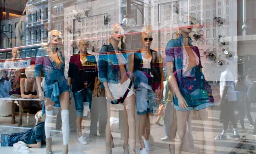 Zara shop on Oxford Street, London