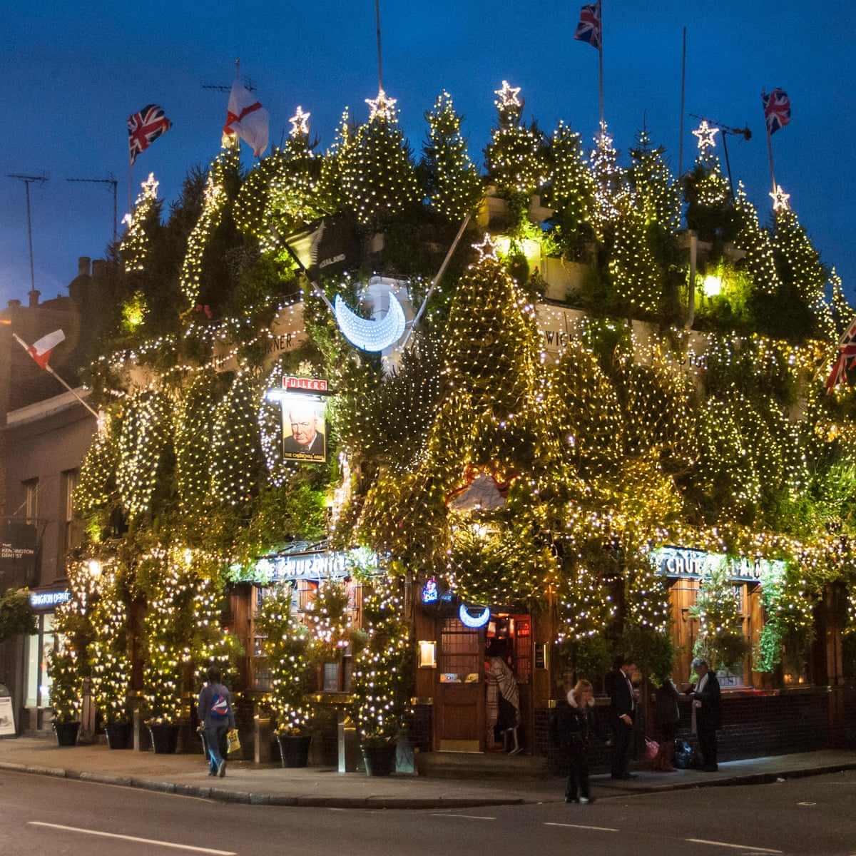 10 of the best London pubs for the Christmas season | Travel | The Guardian