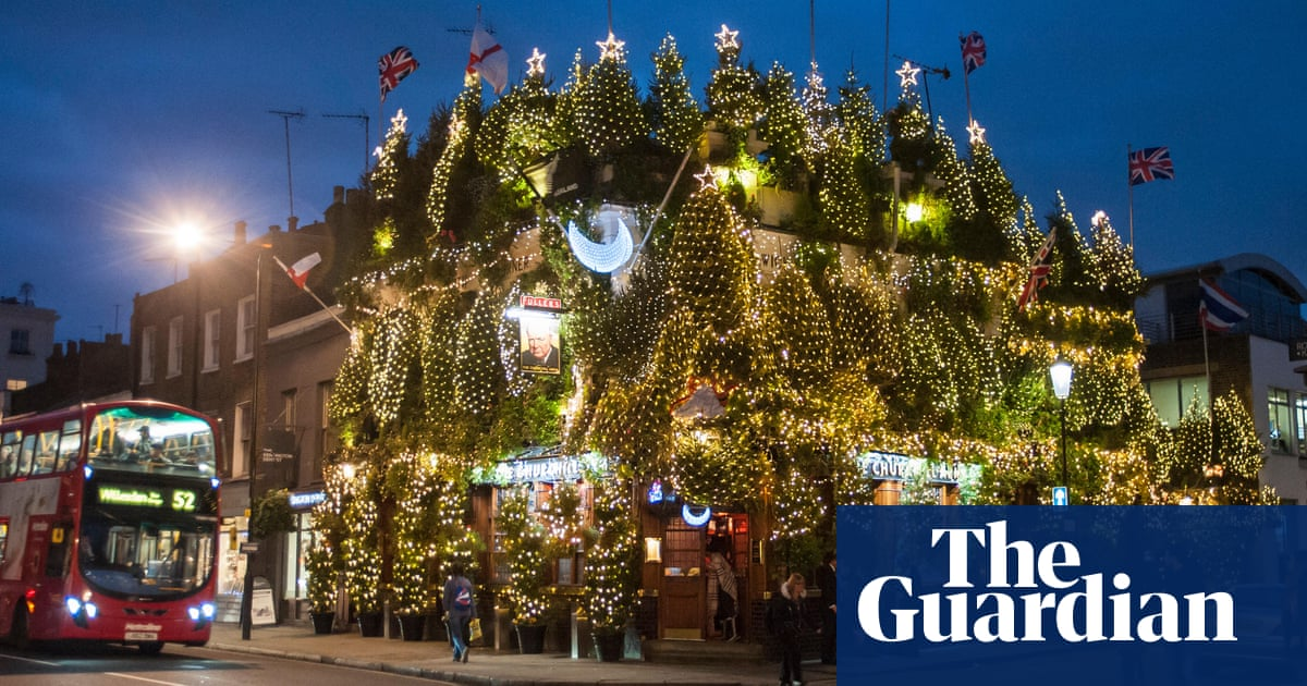 10 of the best london pubs for the christmas season travel the guardian - Are Bars Open On Christmas Eve