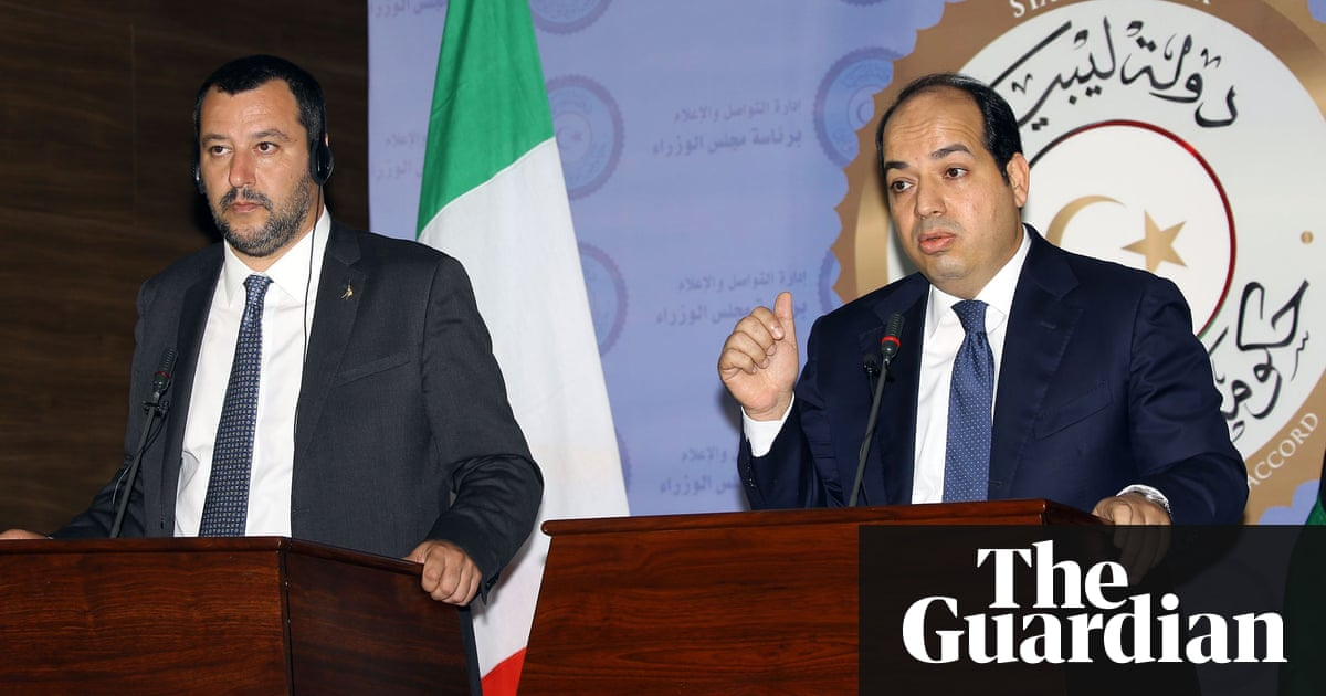 Matteo Salvini calls for migrant reception centres in southern Libya