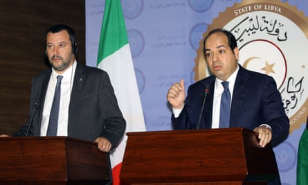 Salvini and Maiteeq