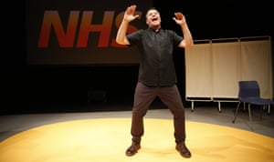 Mark Thomas takes the pulse of our healthcare system in Check Up: Our NHS at 70 at the Traverse