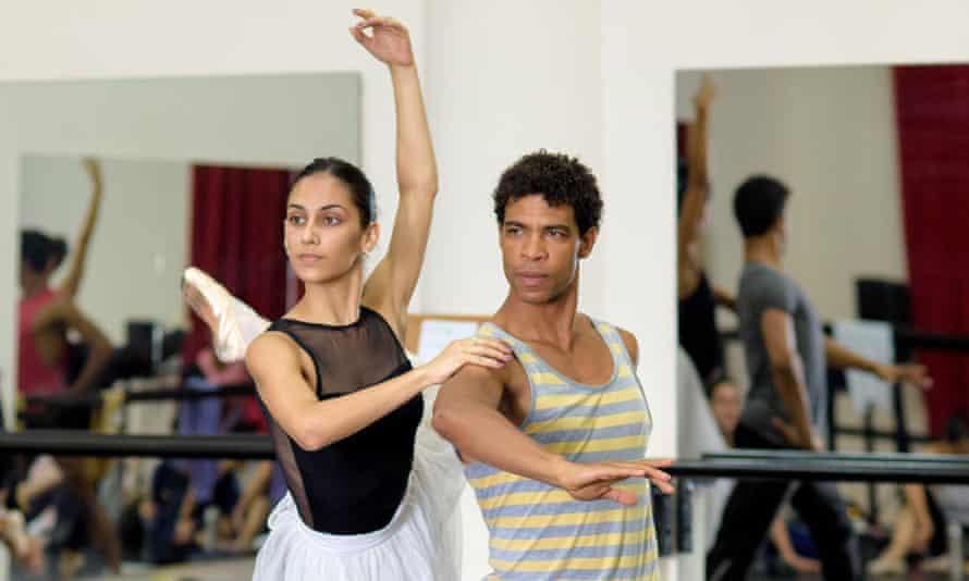 Acosta Danza rehearse in Cuba.