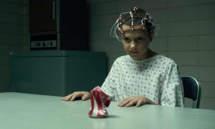 Eleven, the forlorn ex-lab rat with supernatural powers.
