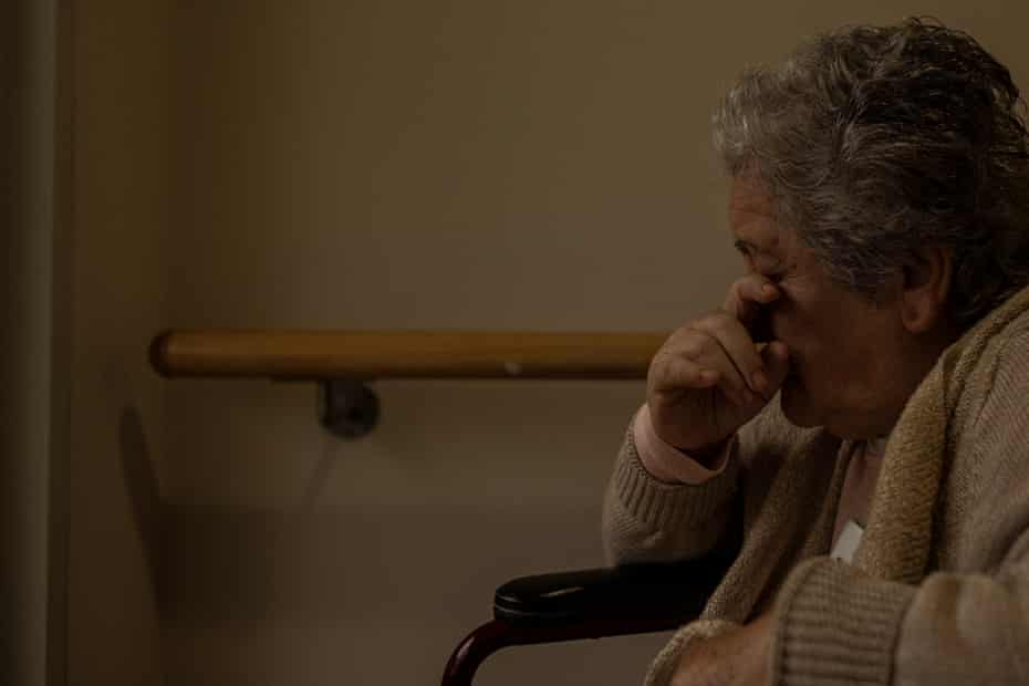 As her dementia has worsened - Gladys is almost non-verbal and has limited mobility - husband Jose has never left her side.