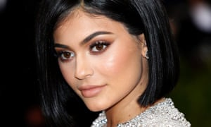 Kylie Jenner's makeup makes her the world's youngest