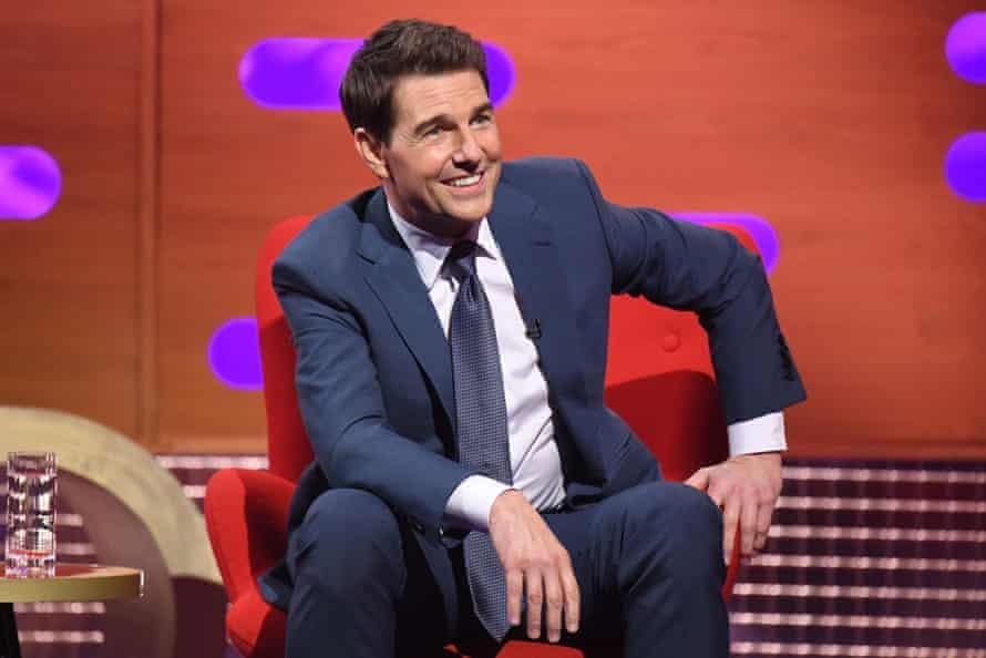 Tom Cruise on last week's Graham Norton Show.