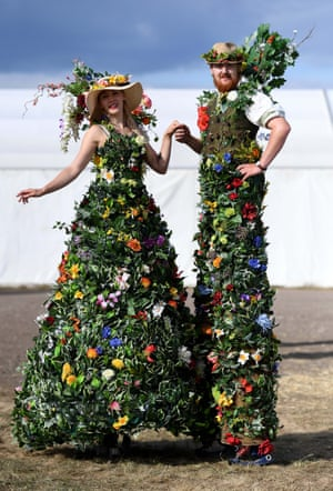 Mr & Mrs Flora are a show favourite at the Dorset County Show weekend