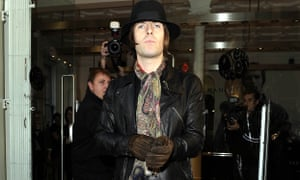 Liam Gallagher opens a Pretty Green pop-up store in Manchester. The fashion label is owed £500,000.