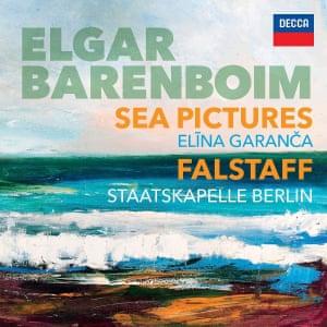 Elgar: Sea Pictures; Falstaff album art work