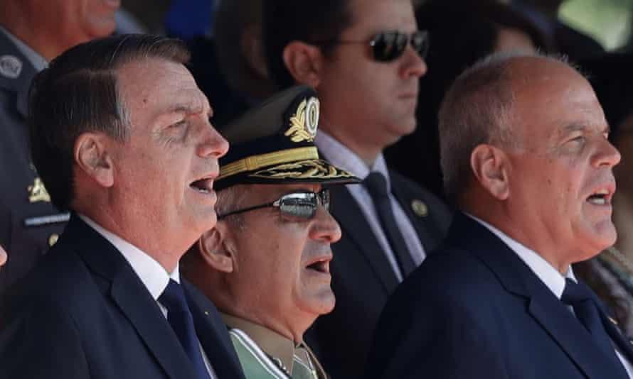 Brazil's president, Jair Bolsonaro