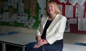Mary Boyle in classroom