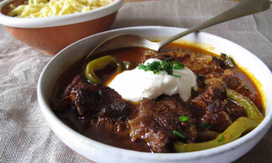 Felicity Cloake's recipe for Goulash calls for lots of caraway spice