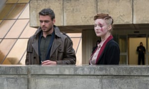 Ross (Richard Madden) and Honor (Holliday Grainger) in Philip K Dick's Electric Dreams: The Hood Maker.