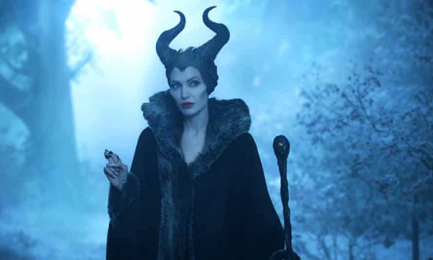 Angelina Jolie in Maleficent.
