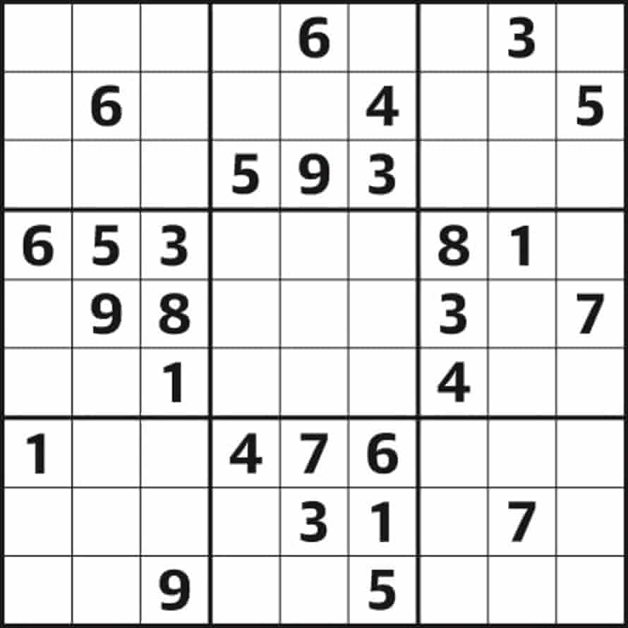 Sudoku 5,037 medium
