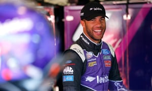 Bubba Wallace, Nascar's African American star, takes on