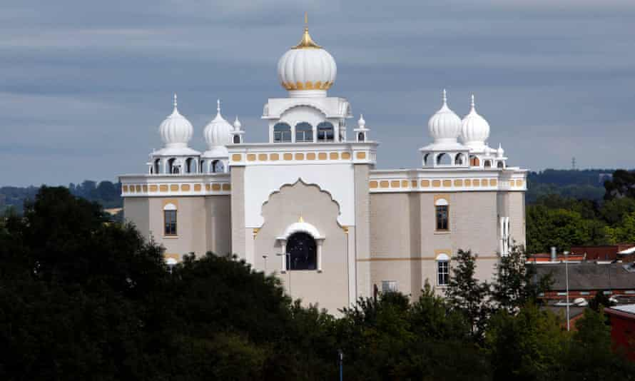 The Sikh temple in Leamington Spa.