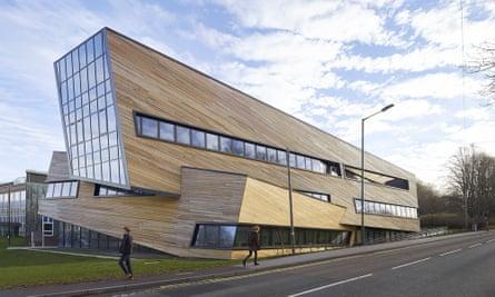 The Ogden building at Durham