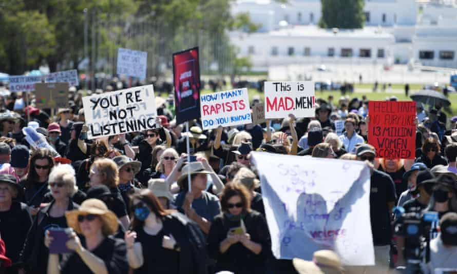 march 4 justice crowd in canberra