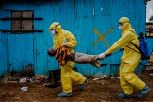 'Scenes from the Ebola Crisis' by Daniel Berehulak covers his Pulitzer prize winning images of the outbreak in Liberia, Sierra Leone and Guinea.