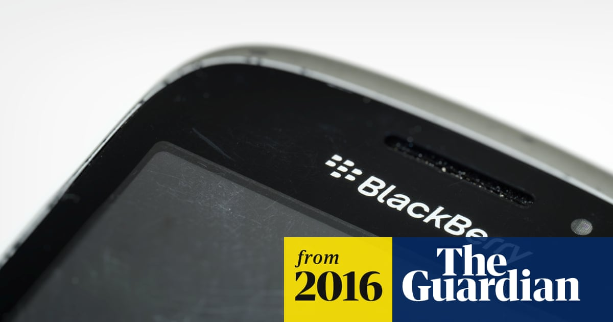 BlackBerry to stop making phones | Technology | The Guardian