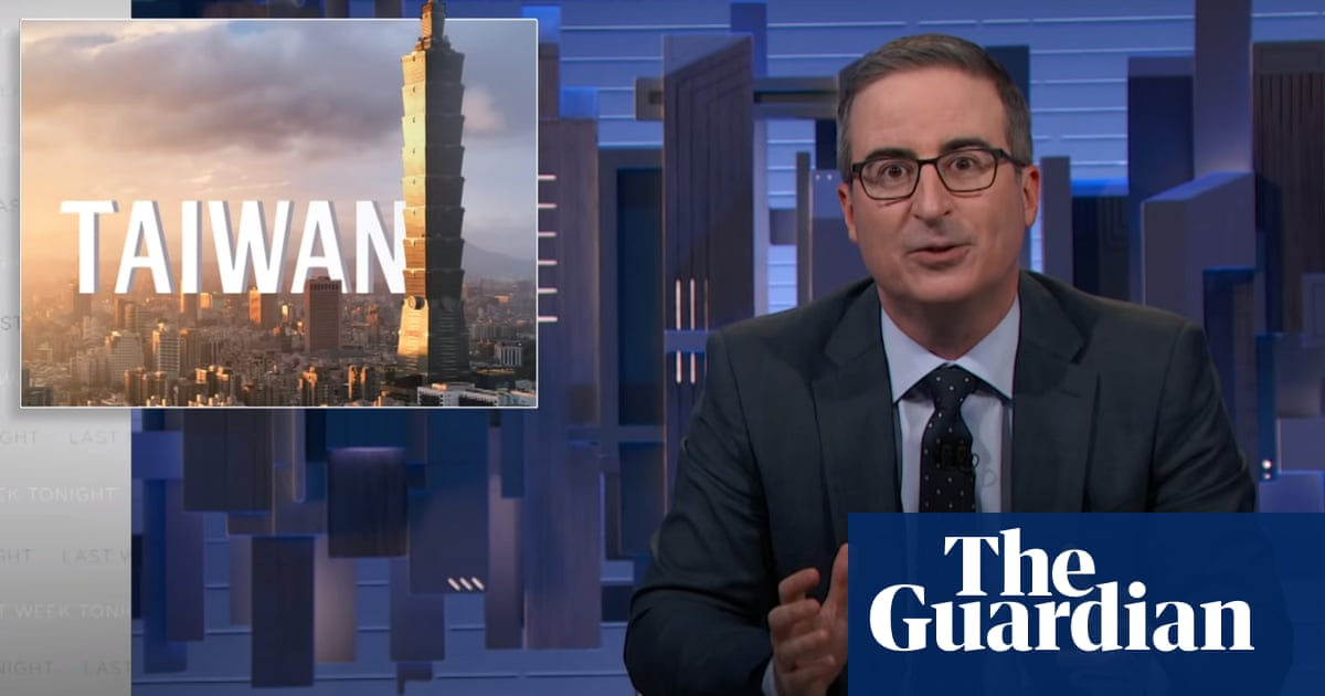 John Oliver dissects Taiwan tensions: 'Deeply weird, ambiguous status quo'