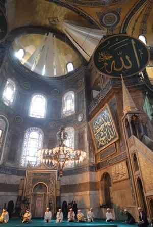 Istanbul, Turkey: the Hagia Sophia mosque