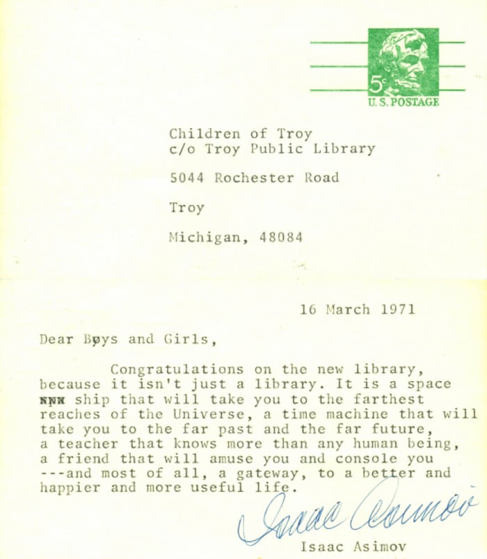 A Library Is Like Room Full Of Friends Stars Letters To Young Readers