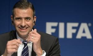 Markus Kattner was fired from his job as Fifa's deputy secretary general last week.