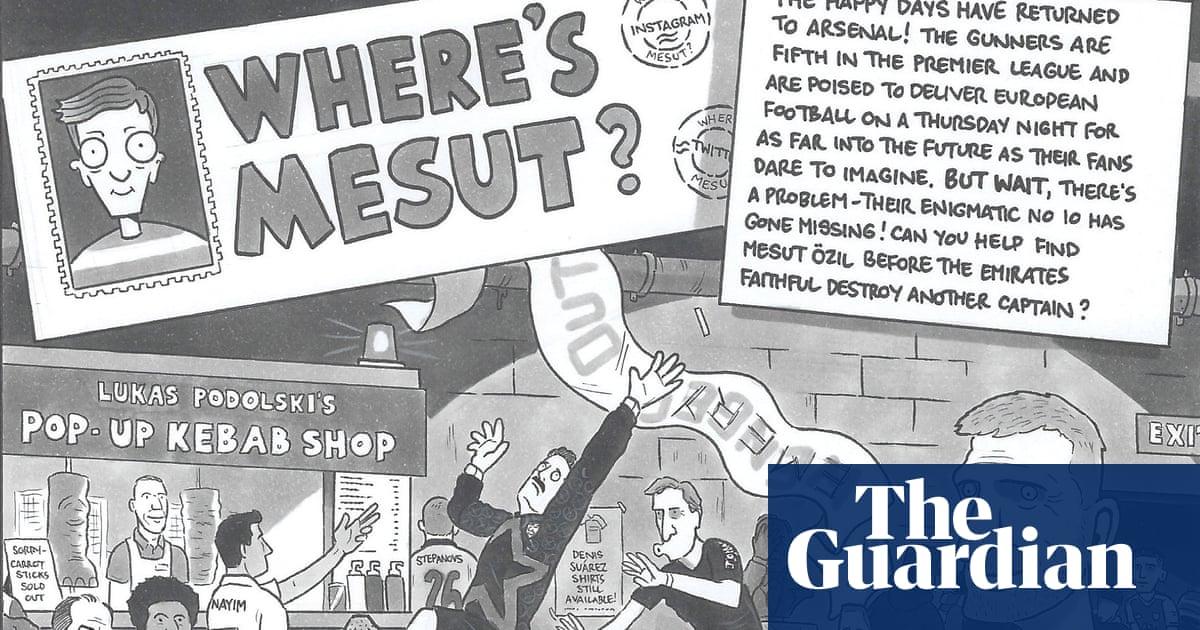 David Squires on … wheres Mesut?
