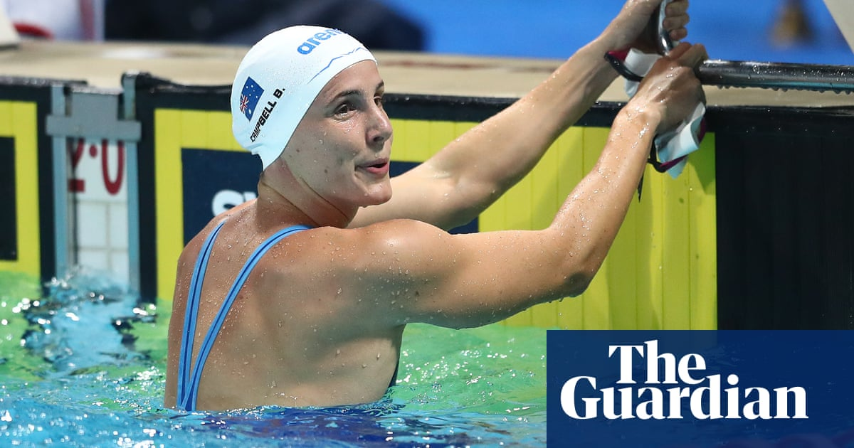 Bronte Campbell: 'I've been injured for five years, half my swimming career'