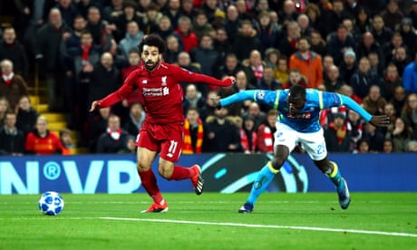 Mo Salah, Liverpool's kangaroo, looks ready to bounce through winter slog | Barney Ronay
