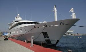 Vijay Mallya's Indian Empress superyacht.
