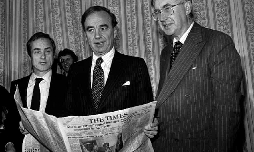 Harold Evans , Rupert Murdoch, William Rees-Mogg