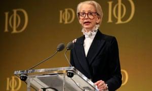 IoD chairman Lady Barbara Judge