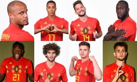 Vincent Kompany, Youri Tielemans, Dries Mertens, Romelu Lukaku, Michy Batshuayi, Marouane Fellaini, Leander Dendoncker and Adnan Januzaj emerged at Anderlecht.