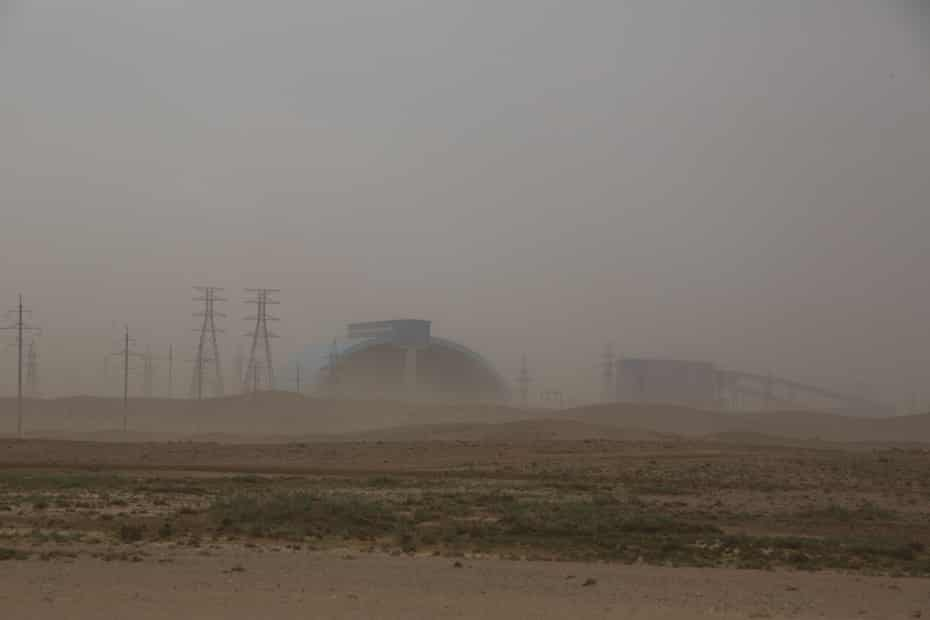 Oyu Tolgoi mine Khanbogd Sum, southern Gobi, Mongolia