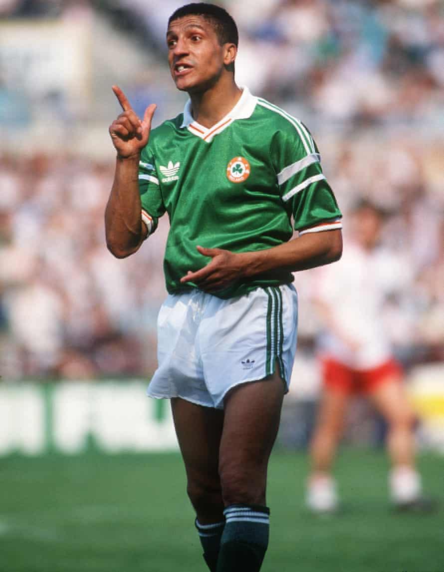 Chris Hughton was the first mixed-race footballer to represent the Republic of Ireland