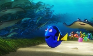 Finding Dory, the No 1 film in the US in 2016