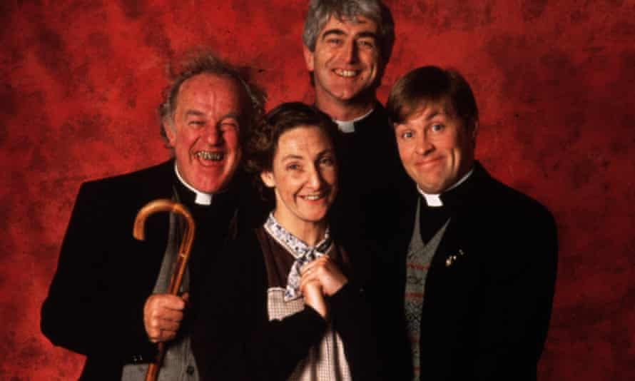 The cast of Father Ted.