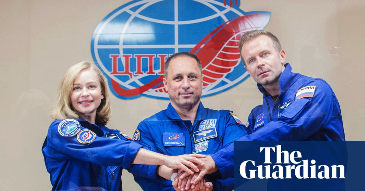 Russian actor and director prepare for space launch to record first movie in orbit