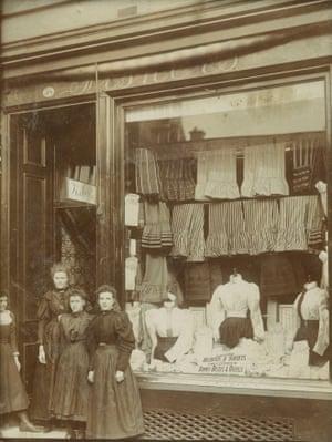 Dresswear shop, Stirling, 1890s
