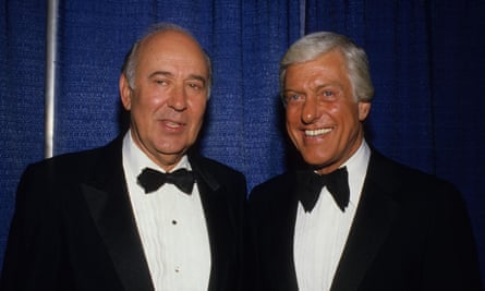 'In our day, you couldn't even say damn' … Carl Reiner, left, and Dick Van Dyke.