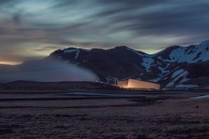 Hellisheiði geothermal plant, Iceland.