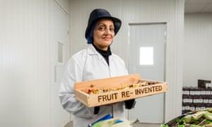 Nimisha Raja of Nim's Fruit Crisps, Sittingbourne.