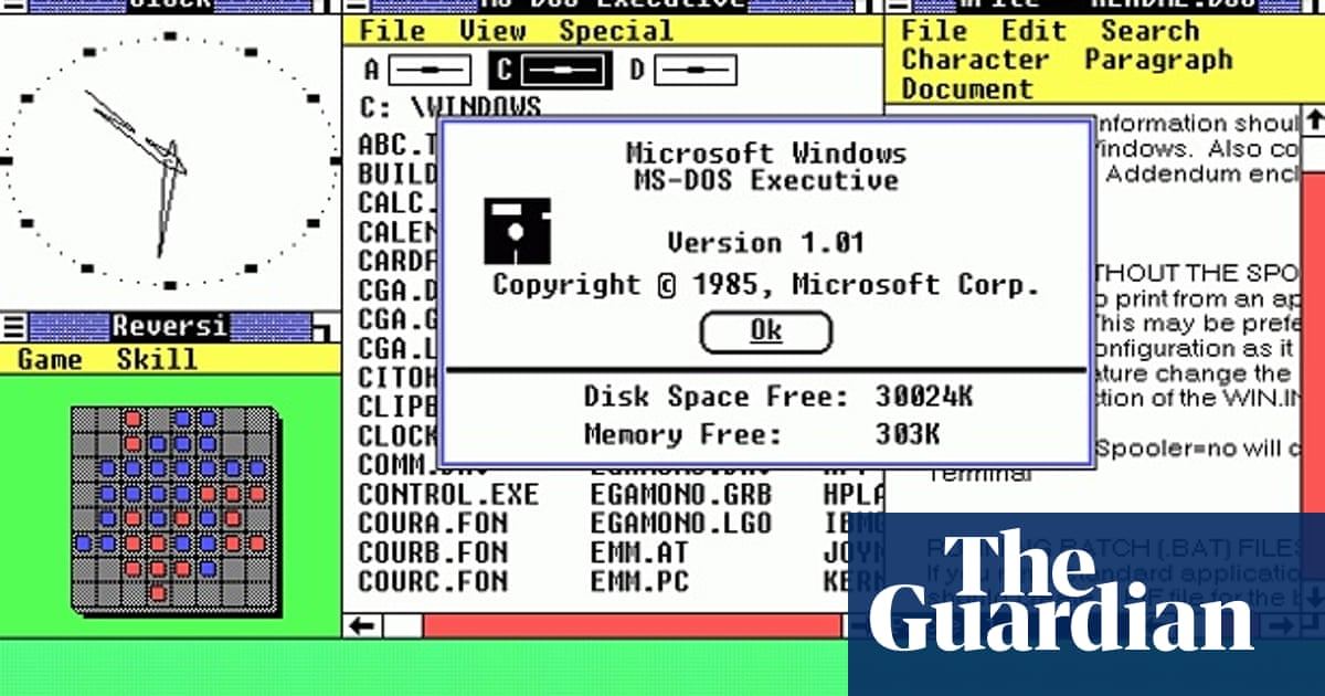 Windows turns 30: a look at the operating system through the