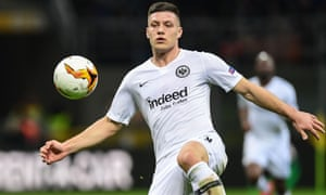 New Real Madrid signing Luka Jovic there.