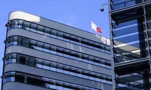 The Dar Malta building in Brussels