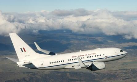 RAAF Boeing 737-BBJ